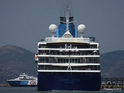 CELESTYAL ODYSSEY Departing Piraeus PDM 01-06-2015 08-34-14