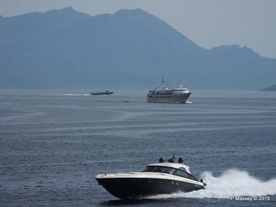 AGIOS NEKTARIOS AIGINAS FLYING DOLPHIN 17 mb Saronic Gulf Aegina PDM 01-06-2015 14-50-04