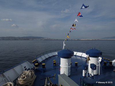 Approaching Piraeus on board IONIS PDM 01-06-2015 15-29-54