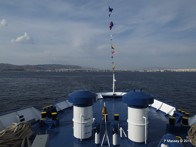 Approaching Piraeus on board IONIS PDM 01-06-2015 15-33-45