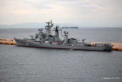 Russian Destroyer 870 SMETLIVY 30 & 31 Oct 2016