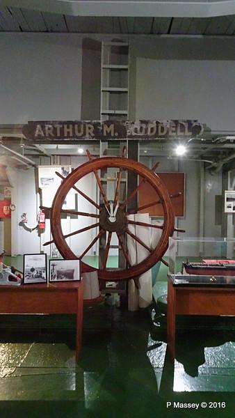 ARTHUR M HUDDELL Name Plate Wheel ss HELLAS LIBERTY Piraeus PDM 30-10-2016 12-59-21