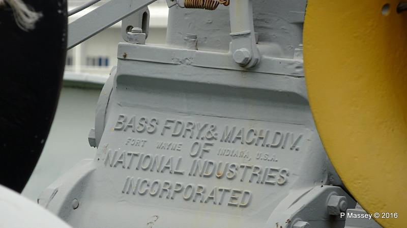 Bass Fdry & Mach National Industries Inc Fort Wayne Indiana ss HELLAS LIBERTY Piraeus PDM 30-10-2016 12-14-00