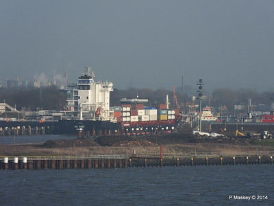 ER VISBY Entering Kiel Canal PDM 16-12-2014 09-45-28