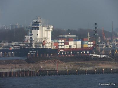 ER VISBY Entering Kiel Canal PDM 16-12-2014 09-45-35