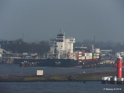ER VISBY Entering Kiel Canal PDM 16-12-2014 09-44-44