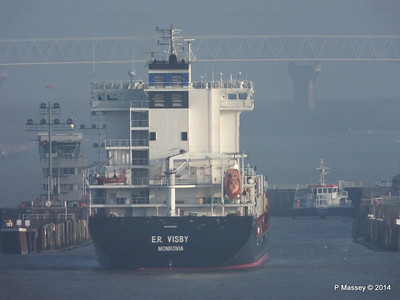 ER VISBY Approaching the Kiel Canal PDM 16-12-2014 09-41-052