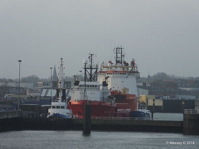 ATLANTIC EAGLE NORMAND DRAUPNE Cuxhaven PDM 16-12-2014 08-32-53