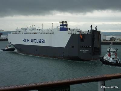 HOEGH AFRICA Inbound Le Havre 6 Oct 2014