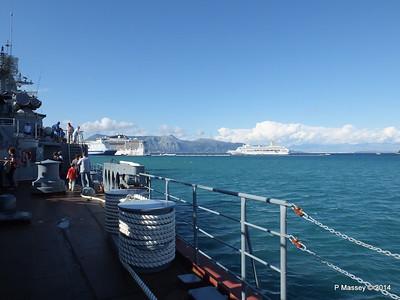 ORIANA EUROPALINK MSC FANTASIA from RFS MOSKVA 121 Corfu PDM 26-09-2014 16-30-028