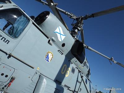 Kamov KA-27PL Helicopter RFS MOSKVA Corfu PDM 26-09-2014 16-28-55