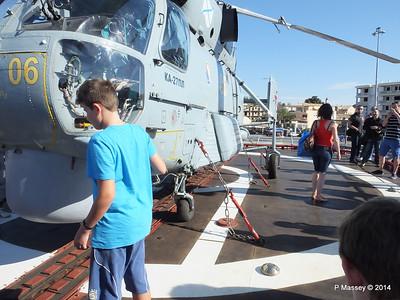 Kamov KA-27PL Helicopter RFS MOSKVA Corfu PDM 26-09-2014 16-26-43