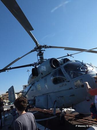 Kamov KA-27PL Helicopter RFS MOSKVA Corfu PDM 26-09-2014 16-29-35