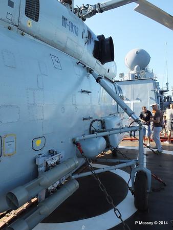 Kamov KA-27PL Helicopter RFS MOSKVA Corfu PDM 26-09-2014 16-27-53