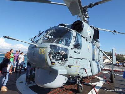 Kamov KA-27PL Helicopter RFS MOSKVA Corfu PDM 26-09-2014 16-26-39