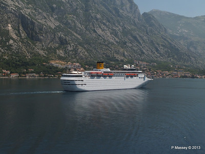 COSTA CLASSICA passes on her way to Kotor PDM 20-06-2013 12-30-10