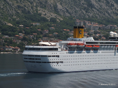 COSTA CLASSICA passes on her way to Kotor PDM 20-06-2013 12-30-25