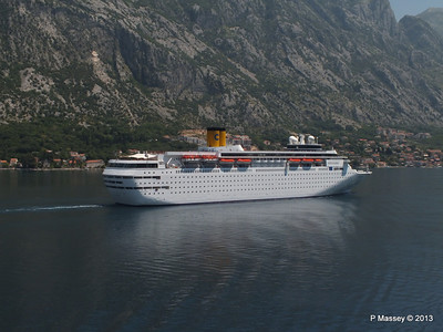 COSTA CLASSICA passes on her way to Kotor PDM 20-06-2013 12-30-00