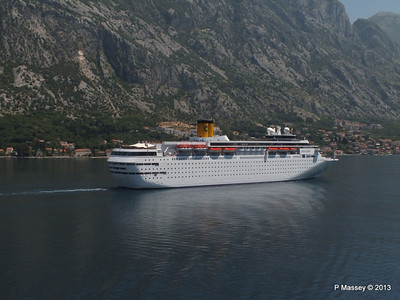 COSTA CLASSICA passes on her way to Kotor PDM 20-06-2013 12-30-02