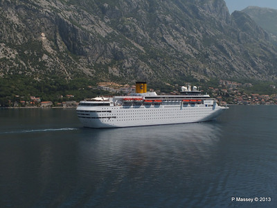 COSTA CLASSICA passes on her way to Kotor PDM 20-06-2013 12-30-04
