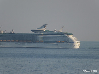 NAVIGATOR OF THE SEAS off Cape Tainaro PDM 18-06-2013 17-06-15