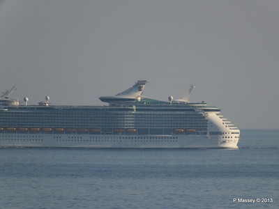 NAVIGATOR OF THE SEAS off Cape Tainaro PDM 18-06-2013 17-06-18