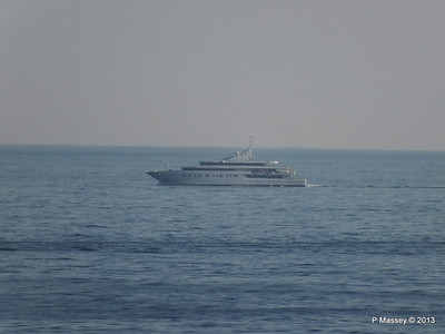 Unknown Yacht off Cape Tainario PDM 18-06-2013 16-54-00