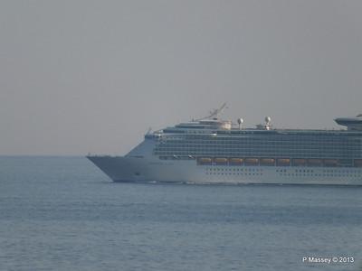 NAVIGATOR OF THE SEAS off Cape Tainaro PDM 18-06-2013 17-06-10