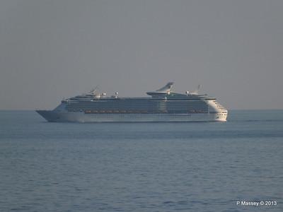 NAVIGATOR OF THE SEAS off Cape Tainaro PDM 18-06-2013 17-06-36