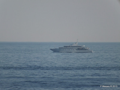 Unknown Yacht off Cape Tainario PDM 18-06-2013 16-53-53