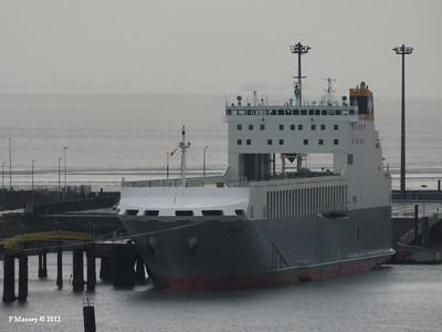 ADELINE, yet to be christened - will be 26 Oct 2012 alongside HMS Belfast