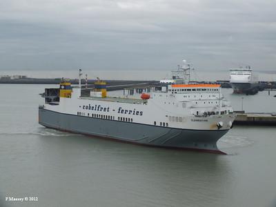 CLEMENTINE ADELINE YASMINE Zeebrugge 18-10-2012 12-19-05