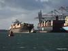 OOCL MEXICO Passing APL MERLION Southampton PDM 24-02-2015 16-25-07