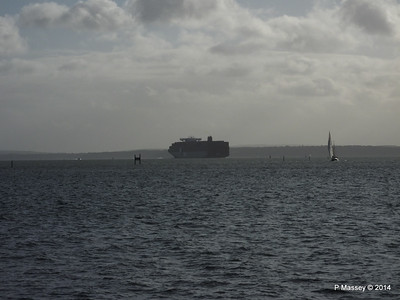APL MERLION Outbound Southampton the Solent PDM 10-12-2014 12-49-49