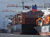 NYK METEOR APL MERLION CMA CGM TOSCA Southampton PDM 23-02-2015 13-06-23