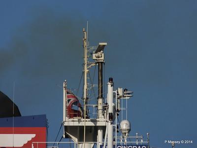 APL QINGDAO Departing Southampton PDM 09-01-2014 14-17-32