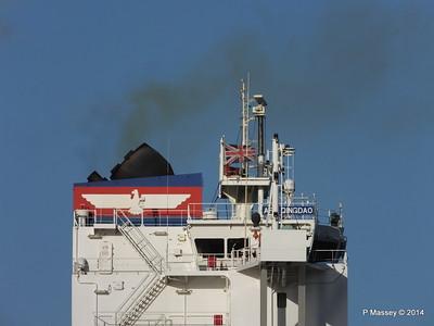 APL QINGDAO Departing Southampton PDM 09-01-2014 14-17-38