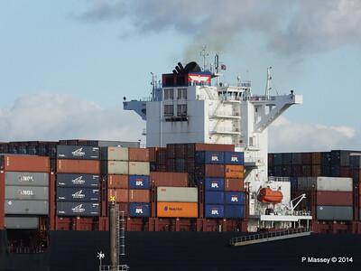 APL QINGDAO Departing Southampton PDM 09-01-2014 14-23-27