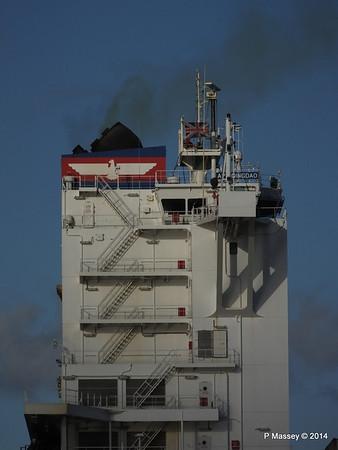 APL QINGDAO Departing Southampton PDM 09-01-2014 14-17-44