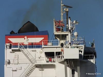 APL QINGDAO Departing Southampton PDM 09-01-2014 14-17-27