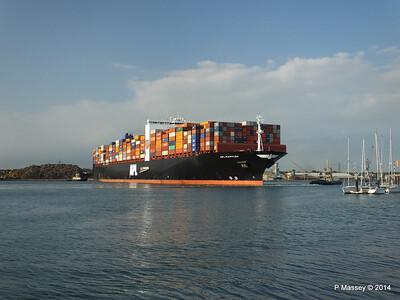 APL RAFFLES Departing Southampton PDM 20-06-2014 19-14-52