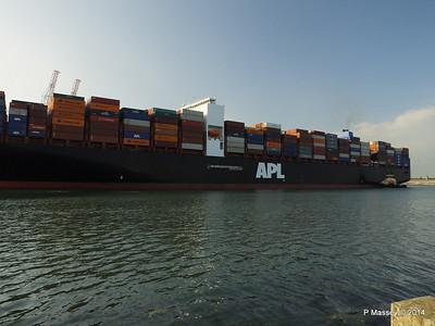 APL RAFFLES Departing Southampton PDM 20-06-2014 19-09-46