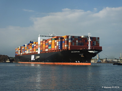 APL RAFFLES Departing Southampton PDM 20-06-2014 19-14-49