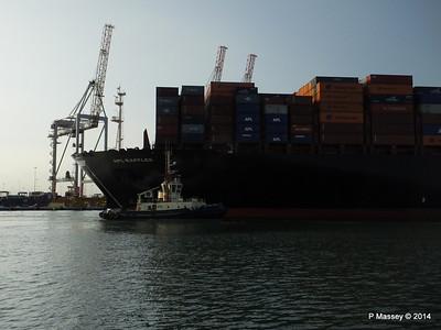 APL RAFFLES Departing Southampton PDM 20-06-2014 19-10-08