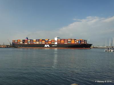 APL RAFFLES Departing Southampton PDM 20-06-2014 19-18-08