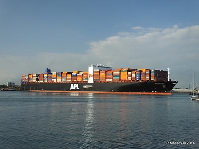 APL RAFFLES Departing Southampton PDM 20-06-2014 19-16-34