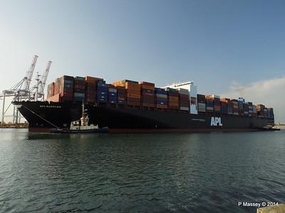 APL RAFFLES Departing Southampton PDM 20-06-2014 19-10-36