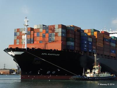 APL RAFFLES Departing Southampton PDM 20-06-2014 19-11-50