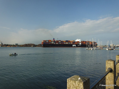APL RAFFLES Departing Southampton PDM 20-06-2014 19-23-16