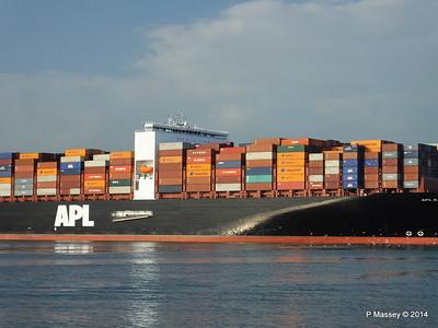 APL RAFFLES Departing Southampton PDM 20-06-2014 19-16-49